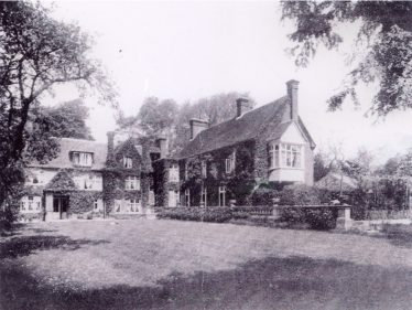Rear View of Meldreth Court ~1920