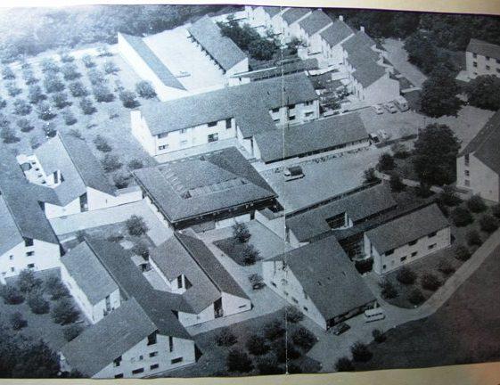 Meldreth Manor School aerial view | Meldreth W.I.