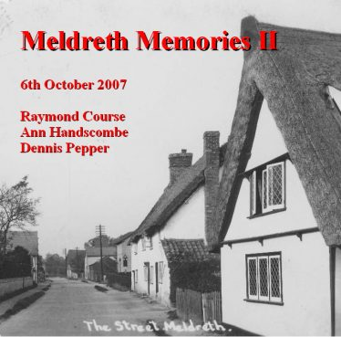 Meldreth Memories CDs recorded at Meldreth Holy Trinity Church | Three different CDs are available priced at just £5 each