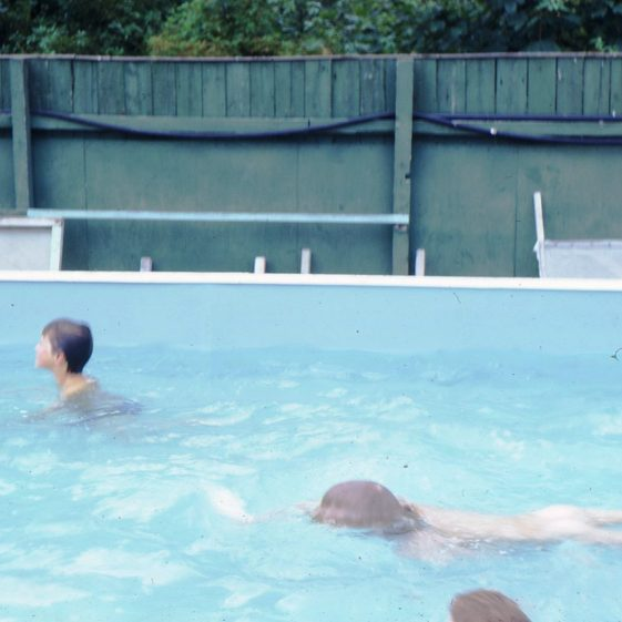 The school swimming pool, July 1972 | Photograph supplied by Iris Howell