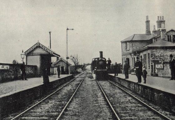 The History of the Railway through Meldreth