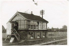 Meldreth Signal Box | Photo supplied by Mary Findlay