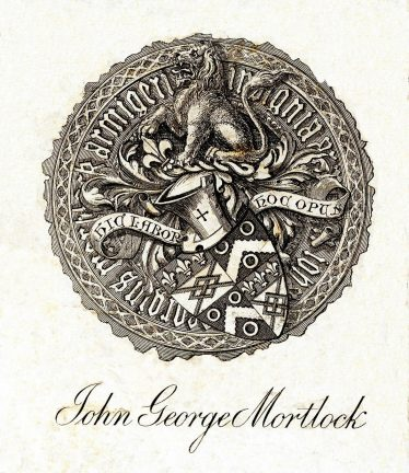 The Family Crest of John George Mortlock
