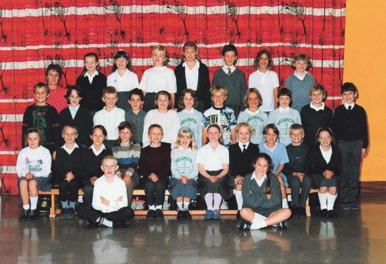 Formal School Photographs from the 1990s