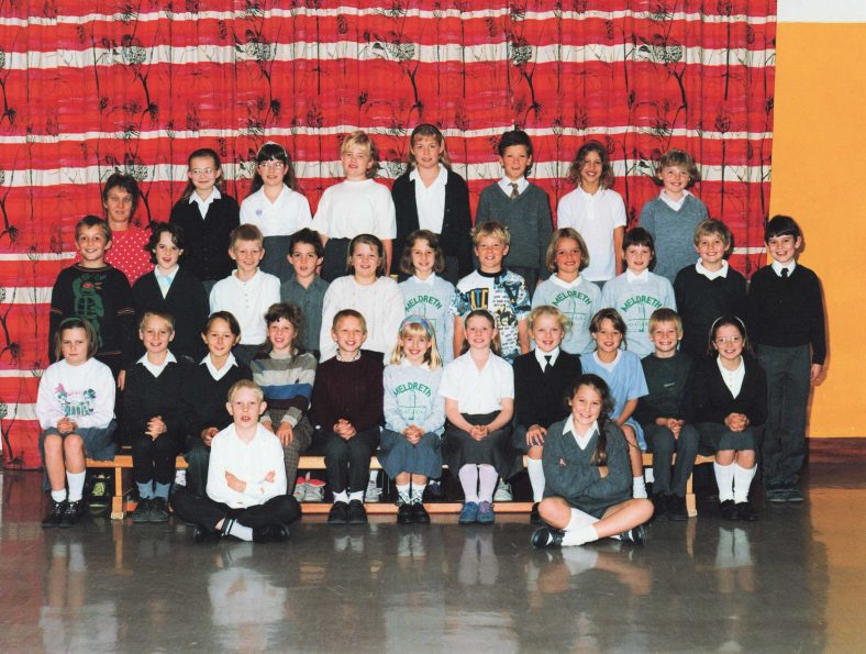 <b>Mrs Knight's Class, 1990</b><br> | Photograph supplied by Christine Knight