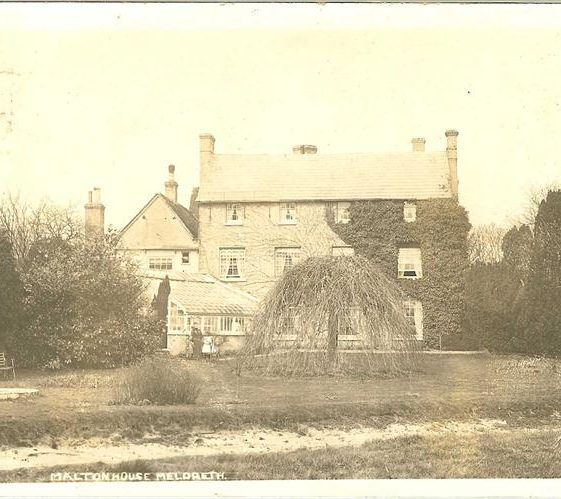 Malton House, Malton c. 1905 | Postcard supplied by Brian Clarke