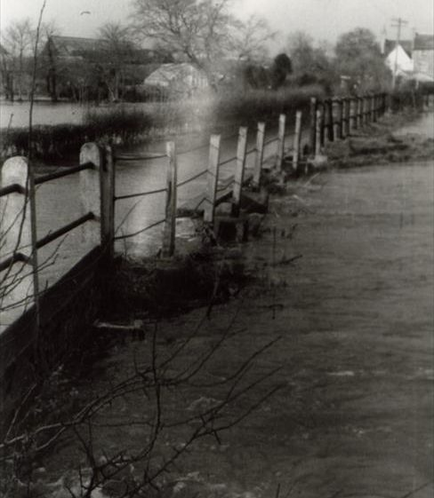 Floods in Malton Lane, January 1959 | Photograph supplied by Ann Handscombe