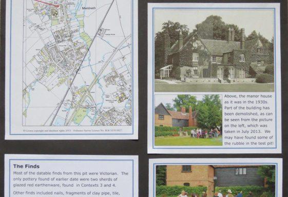 Test Pit 22 - Meldreth Manor School