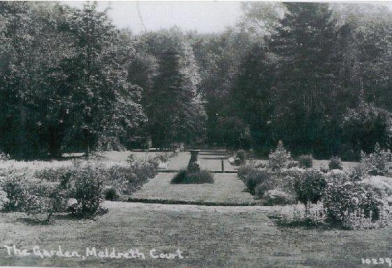Meldreth Court: the Garden