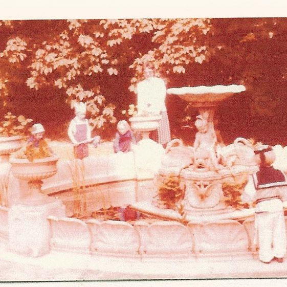 The Royal Doulton fountain