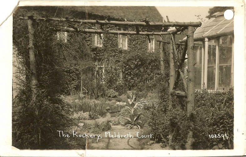 102394 The Rockery, Meldreth Court | Bell's postcard supplied by Ann Handscombe