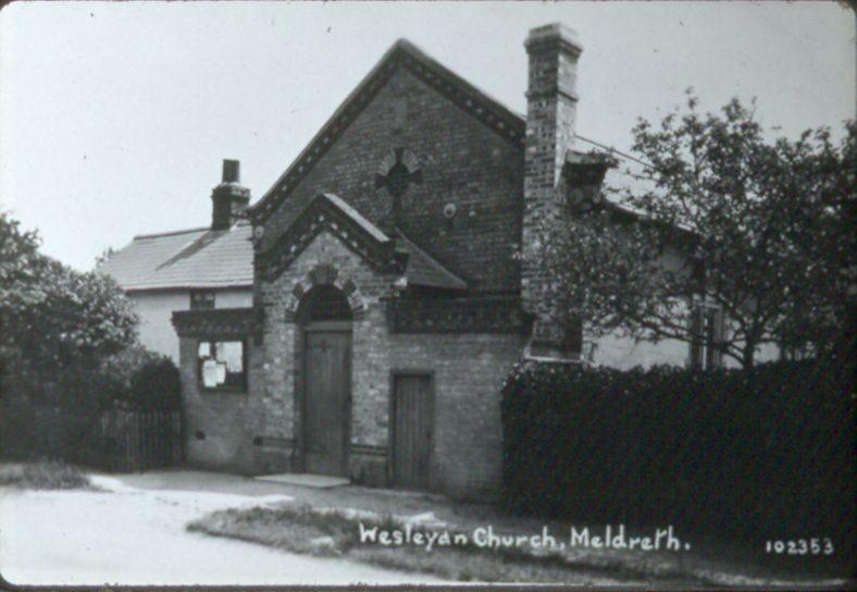 <b>North End: the Methodist Chapel</b> | Bell's Postcard, 1920s