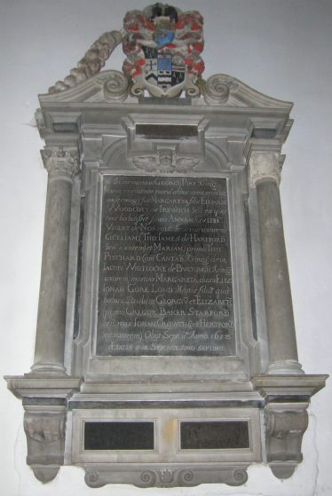 The Pike Monument, Holy Trinity Church, Meldreth | Photograph by Kathryn Betts