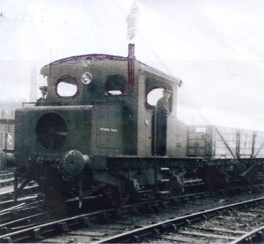 Modified photograph of the Gaston Moyse Locomotive as remembered by Ken Winter and Brian Pepper.  Note the circular windows, higher roof and vertical exhaust | John King, Ken Winter and Brian Pepper