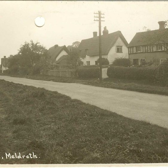Cottages in North End, c. 1930s | Bell's postcard supplied by Ann Handscombe