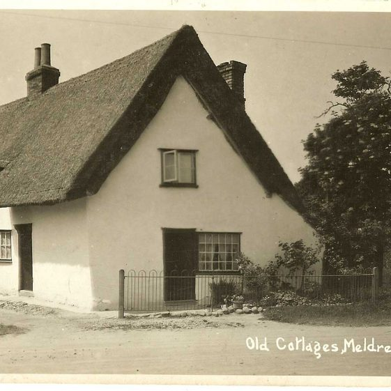 Cottage, c. 1930s.  The cottage was demolished in about 1947 | Bell's postcard supplied by Ann Handscombe