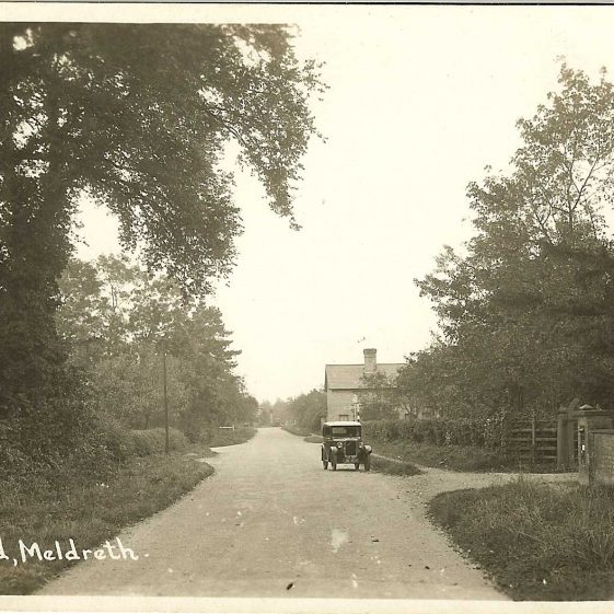 Cam Cottages, near the junction with Malton Lane, c. 1930s | Bell's postcard supplied by Ann Handscombe