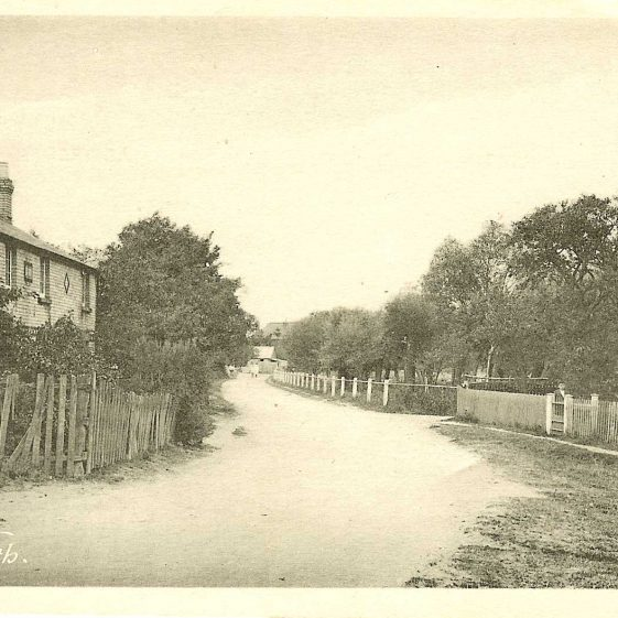 Jubilee Cottages, c. 1922 | Photograph supplied by Kathryn Betts
