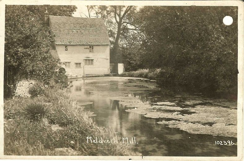 102396 Meldreth Mill [Topcliffe Mill, North End] | Bell's postcard supplied by Ann Handscombe