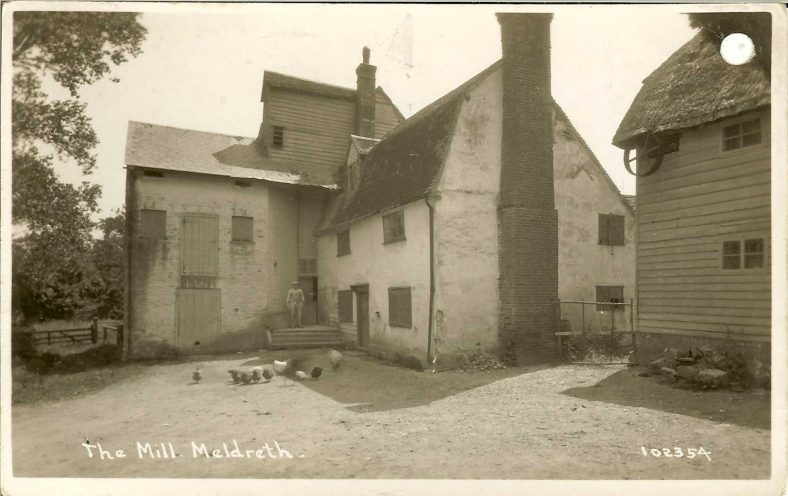 102354 The Mill, Meldreth [Topcliffe Mill, North End] | Bell's postcard supplied by Ann Handscombe