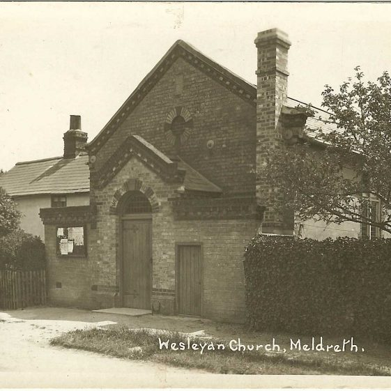 The Wesleyan Chapel in North End, 1920s | Bell''s Postcard supplied by Ann Handscombe