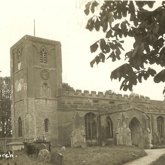 Holy Trinity Church, c. 1930s | Bell's postcard supplied by Ann Handscombe