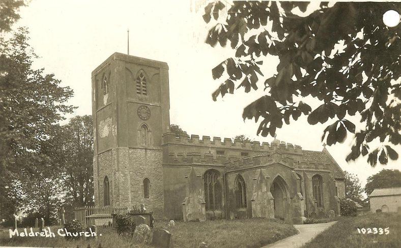 <b>North End: Holy Trinity Church</b> | Bell's Postcard, 1920s
