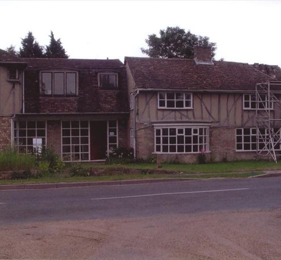 House about to be demolished adjacent to old Wesleyan Chapel.  June 2006. | Photograph by Ann Handscombe