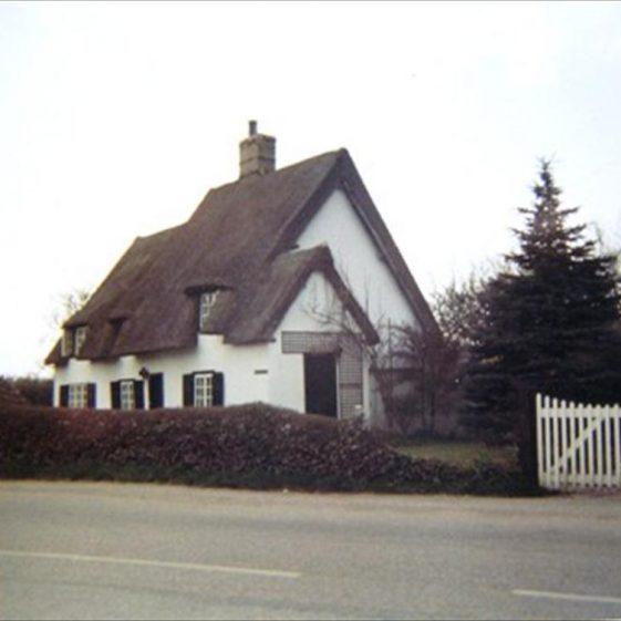The Old Town House, formerly the village blacksmith's, 1970s | Photograph by Alison Chalkley