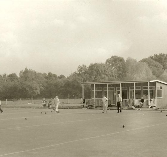 Meldreth Bowls Club, 1960s | Photograph supplied by Dennis Pepper