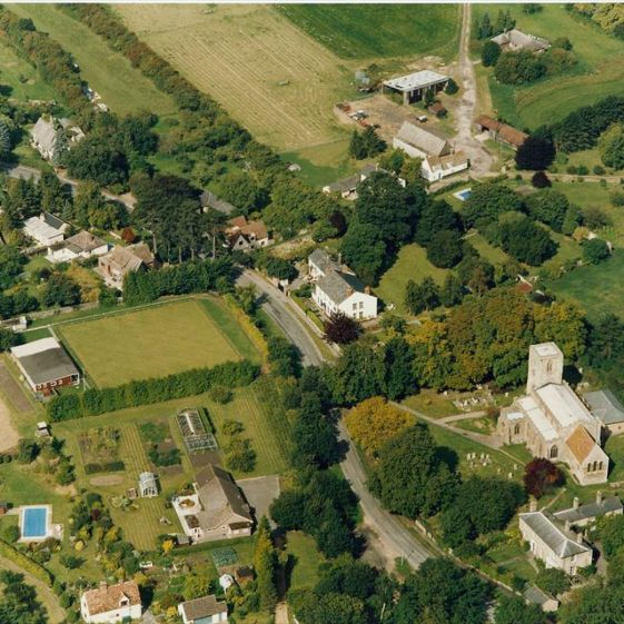Aerial photograph of North End, c. 1990 | Photograph supplied by Angus Bell
