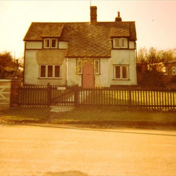 7 North End, formerly Rose Cottage, 1968 | Photograph by Alison Chalkley