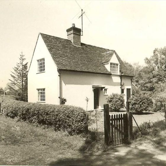 38 North End, 1973.  This was built by Miss Bowen of Topcliffe Mill as her gardener's cottage.  It has since been extended. | Photograph supplied by Kathryn Betts