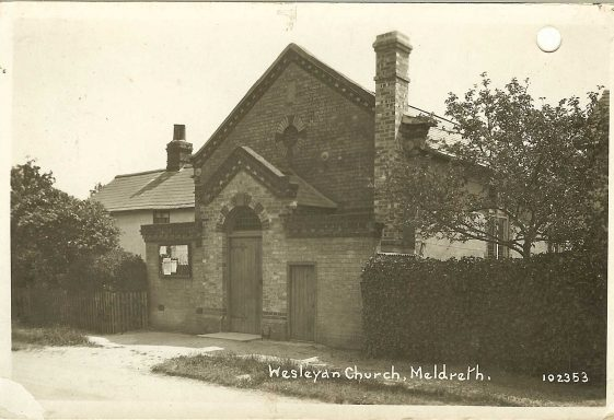 Wesleyan Methodist Chapel Life in late 1930s Meldreth
