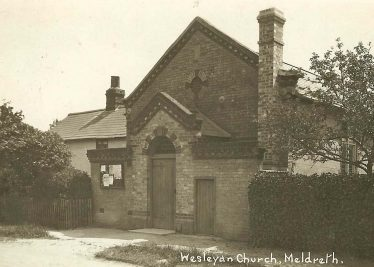 The Wesleyan Chapel, North End | Bell's Postcard supplied by Ann Handscombe