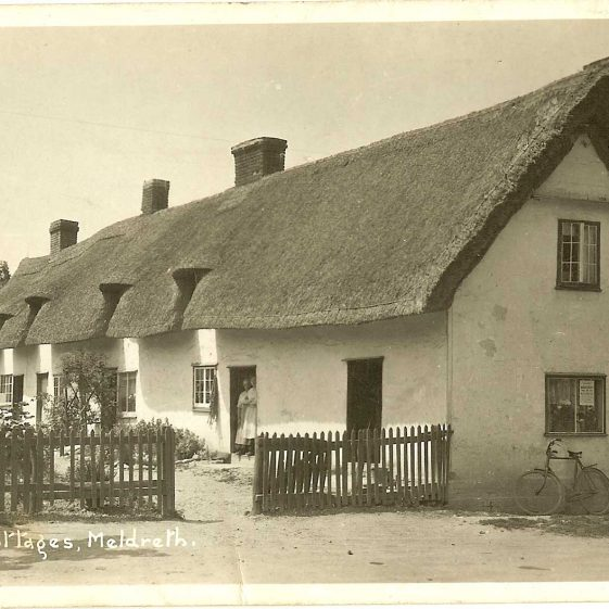Willow Way Cottages, c. 1930s | Bell's postcard supplied by Ann Handscombe