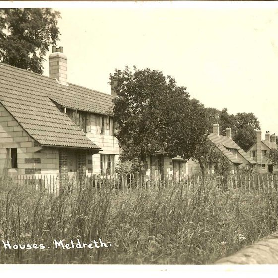 Council houses, c. 1930s | Bell's postcard supplied by Ann Handscombe
