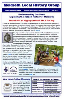 The July 2013 issue of our newsletter