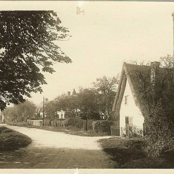 Cottages, c. 1930 | Robert H Clark postcard supplied by Ann Handscombe