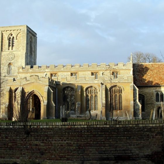 Holy Trinity Church, January 2012 | Photograph by Malcolm Woods