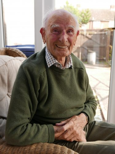 Ron Brooksbank, pictured at his home in July 2015 | John Crawforth