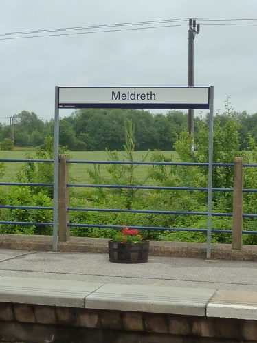One of the planters on Meldreth station | Tim Gane