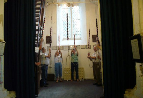 Church Bell Ringing to Mark the Opening of the 2012 Olympic Games