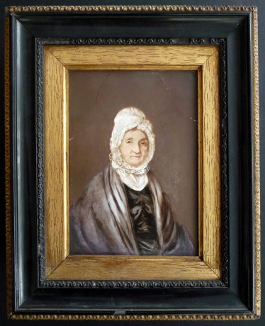 The Framed Portrait of Elizabeth Mortlock | Photograph by Peter Simmonett