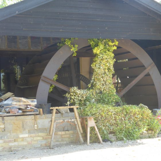 Water Wheel at Shepreth Mill on the A10 | Bruce Huett 2019