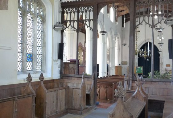 Holy Trinity, Meldreth: the Chancel Furnishings