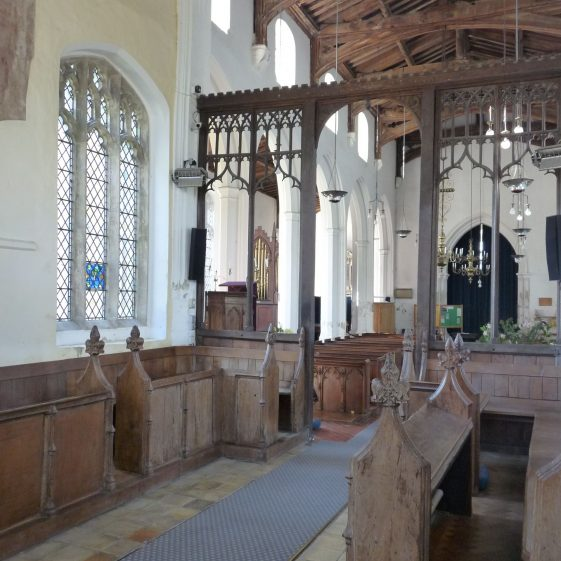 Chancel looking southwest | Peter Draper
