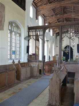 The chancel, Holy Trinity, Meldreth, looking south west | Peter Draper