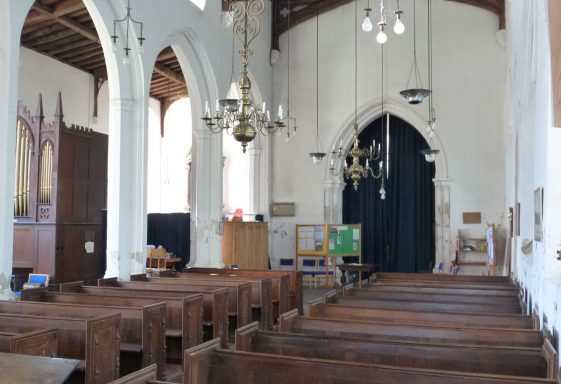 Holy Trinity, Meldreth: the Nave Furnishings
