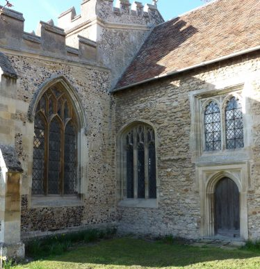 East wall of the south aisle and the south wall of the chancel | Peter Draper